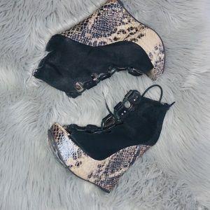 Gently worn Platform heels